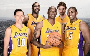 Lakers Show Time by lisong24kobe