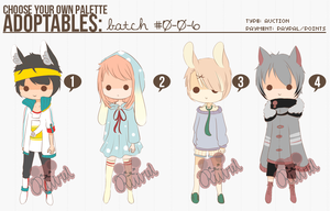 [ADOPTS][CLOSED]: CYOP: KEMONOMIMI [SOLD OUT] by Clouver