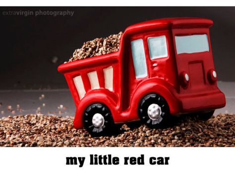 My little red car by Extra-Virgin