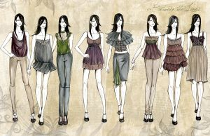 fashion line up by f0rbiddenl0ve