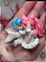 Chibiusa and Helios by DarkettinaMarienne