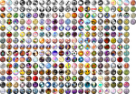 The World Ends With You Pin Icons by dantespoet