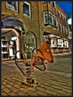 rocking horse by Tiffyrules