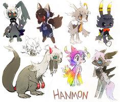 hanmon + remo too by extyrannomon
