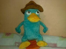 Perry The Platypus Plush Toy by ScissorLuv1201