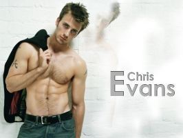 Chris Evans Wallpaper by NoctourneAngel