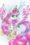 Princess Flurry Heart by Lunar-White-Wolf