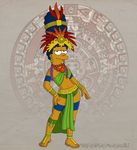 Mayan Marge by TheFightingMongooses