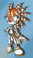 Sonic oc - Lionfish by Helen91