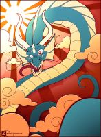 Blue Dragon by erickenji