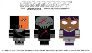 Cubeecraft - Teen Titans 2 by CyberDrone