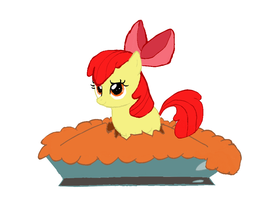 Applebloom Pie? by dakillervamp