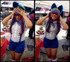 Arale's cosplay by tsunderetiger