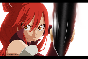 Fairy tail  - 431 - Erza sCarlet by carl1tos
