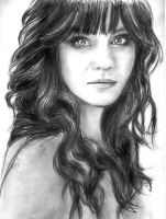 Zooey Deschanel by lucy122