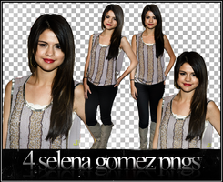 Selena Pack Pngs by EdithionsbyLaw