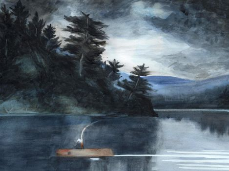 Winslow Homer Study by Silver-Northwind