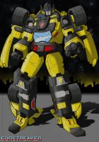 Transformers - Sunstreaker by razor-rebus