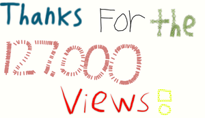 Thanks for the 127000 Views by EarWaxKid