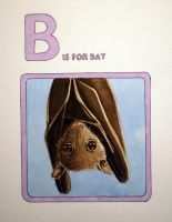 B is for Bat by JessicaEdwards