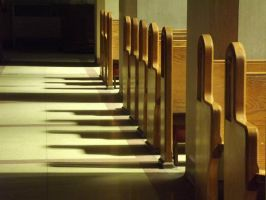 Pews by TheWeirdPhotography