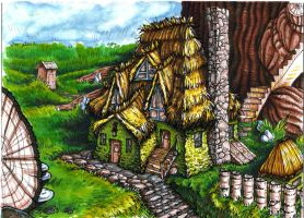 Gnome House by littlecrow