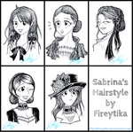 Sabrina's Hairstyle - commission by fireytika