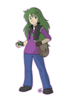 My new Pokemon trainer by Miss-Melis