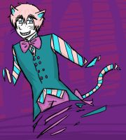 Cheshire Ollie Cat by iTurtleParis
