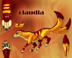 claudia ref by true-crystalwolf