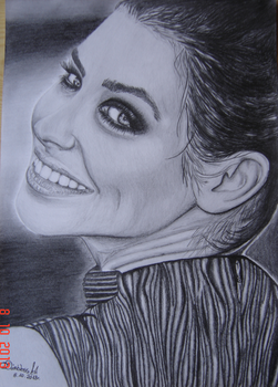 Evangeline Lilly.. by DiablossArt