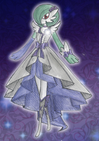 Cure Gardevoir Moonlight by CandySkitty
