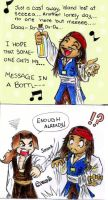 Message in a bottle--- Potc by cherrypie7