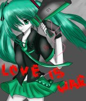 Miku Love Is War by shachan97