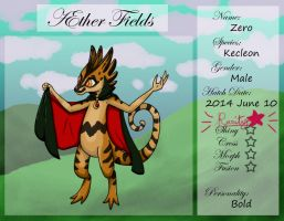 PKMNation Ref - AEther Fields - Zero the Kecleon by VampirateMace