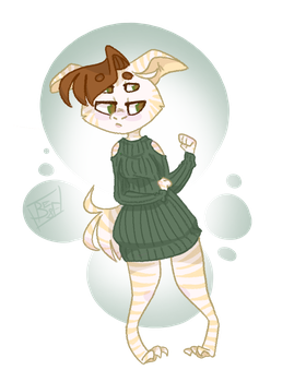 Modern Cutie by BrownEyes-and-Fuzzy