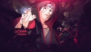 Uchiha Itachi by GreenMotion