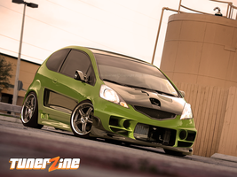 Honda Fit by Ophideus