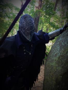 The Bloody Crow Stalks by WalriderCosplay
