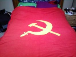 Commie Blanket by DemonicRedemtion