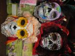 Dia De Los Muertos Masks by hidden-by-art
