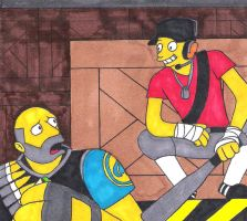 Meet the Scout Simpsons Style by SillyEwe