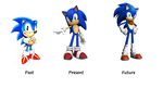 Sonic the Hedgehog - Past, Present and Future by ClariceElizabeth