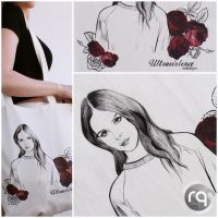Lana Del Rey tote bag by robotiqueshop