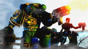Reinforcements ::Warhammer 40k:: by guywiththesuitcase