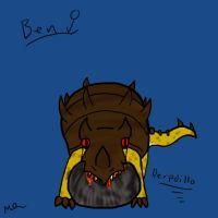 Derpdillo- Ben the King's Forge by Fluffypuppy77