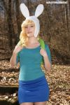 Fionna The Human:  Tomboy Adventurer by HarleyTheSirenxoxo