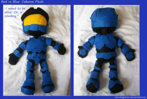 Red vs Blue:  Caboose Plush by DonutTyphoon