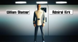 William Shatner Admiral Kirk V by Dave-Daring