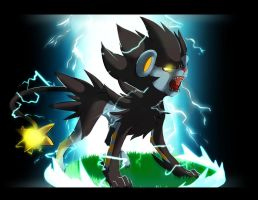 Luxray by SEGAmastergirl
